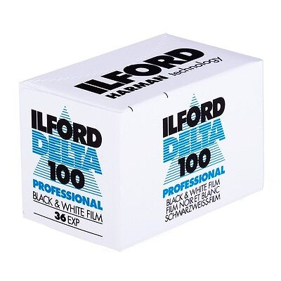 Ilford Delta 100 - 35mm 36 Exposure Black and White Film