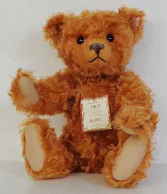 Steiff British Collectors 2005 Bear Growler Limited Edition, Box And Certificate