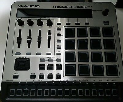 m audio trigger finger pro - pads and DAW controller