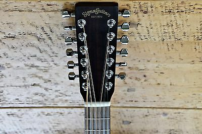 Sigma DM12E 12 String Electro Acoustic Guitar   ** IN MINT CONDITION **