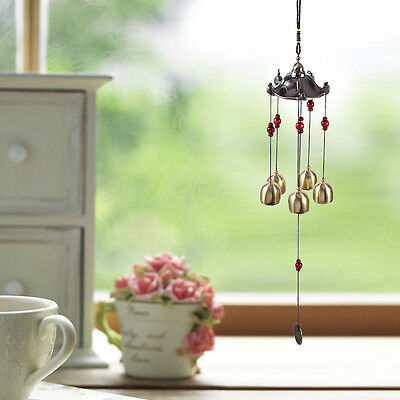 Best Wishes Lucky Aluminum Alloy Wind Chime Bell Outdoor Garden Hanging Decor GW