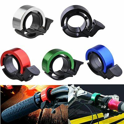 Bike Bicycle Invisible Bell Aluminum Loud Sound  55*15 mm Handlebar Safety D#