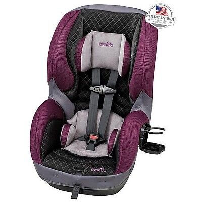 Evenflo Sure Ride DLX Convertible Car Seat In Sugar Plum Brand New In Box
