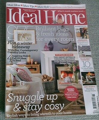 Ideal home magazine November 2014