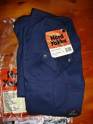 Hard Yakka Coverall Overall.  Size 82R.  New.  Navy Blue