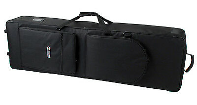 CLASSIC CANTABILE KEYBOARD GIGBAG TROLLEY CASE CARRY BAG 136 x 37 x 15cm