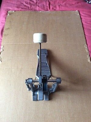 Vintage Premier Bass Drum Pedal With Beater.