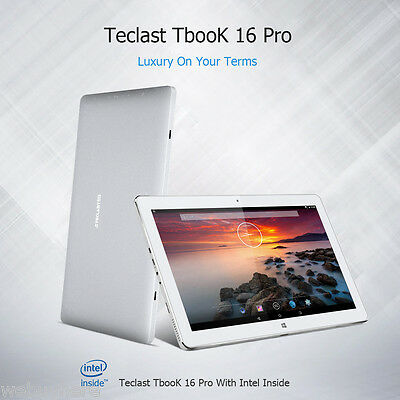 4GB+64GB OTG Tablet Teclast Tbook 16 Pro 11.6¨ HD Quad Core PC Tableta Phablet