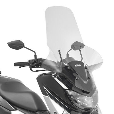 Parabrezza Completo [Givi] - Yamaha N-Max 125 (2015-2016-2017) - 2123Dt+D2123Kit