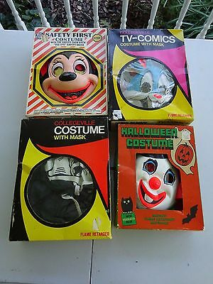 4 Vintage Costumes, Mighty Mouse, Humpty Dumpty, Bugs Bunny