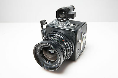 Hasselblad SWC Camera, Biogon 38mm F4.5, Viewfinder and A16 Back. Excellent+++