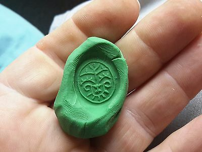 Big 1600s Pewter Seal Ring-Detecting Find