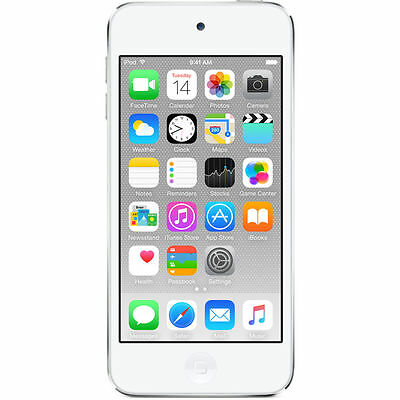 Apple iPod touch 6th Generation Silver (16GB) Apple Warranty after activation