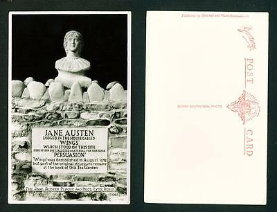 Literary – Rp  The Jane Austen Plaque And Bust - Unused