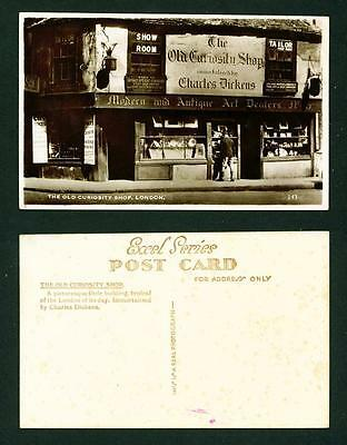 Topographical – Rp  The Old Curiosity Shop – Unused