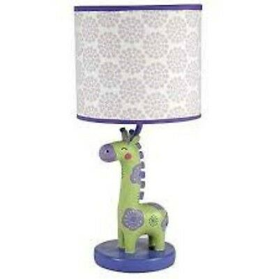 Carters Zoo Collection Giraffe Lamp Shade And Base For Baby Brand New In Box