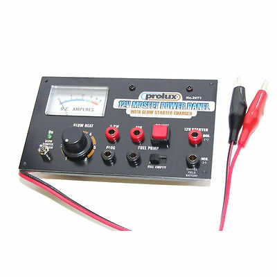 Prolux 12V Power Panel W/Glow Start Charger - PX2671