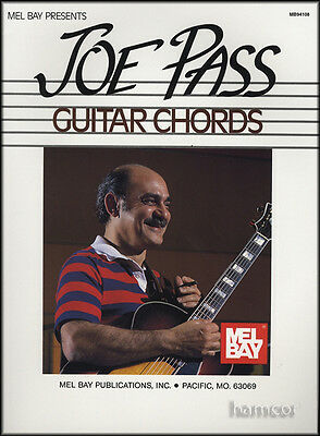 Joe Pass Guitar Chords Jazz Chord Book with Substitutions and Patterns