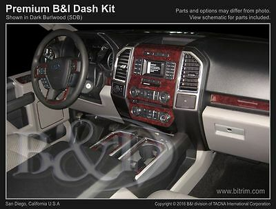 Ford f150 wood dash kit fits 2015 2018 with bucket seats 47pcs ford f150 wood dash kit fits 2015 2017 with bench seats publicscrutiny Gallery