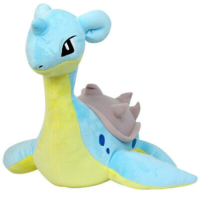 "19"" Lapras Pokemon Center Nintendo Cute Soft Plush Doll Christmas Toys Gift"