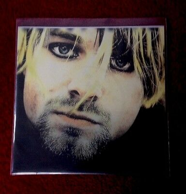 """NIRVANA The Ghost Of Seattle The TV EP Volume One 7"""" RARE PINK VINYL 500 ONLY"""