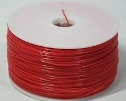 Consommable imprimante 3D - Filament PLA 3,00 mm - Rouge Uni (SOLID RED)