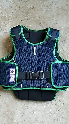 Horse Riding Child's Protective Vest  Harry Hall  Size Level 3 XL back protector