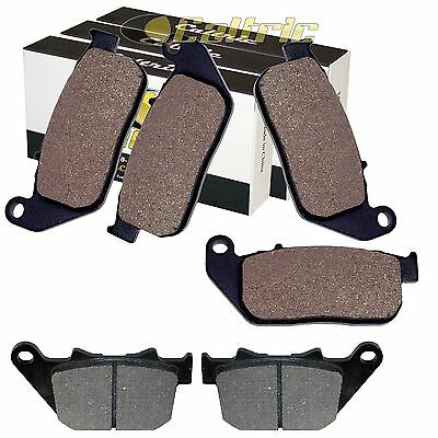 Front Rear Brake Pads Fit Harley Davidson Xl883R Sportster 883 Roadster 2005-13
