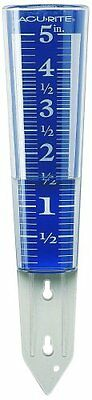 AcuRite 00850A2 5-Inch Capacity Easy-Read Magnifying Rain Gauge Easy to Read