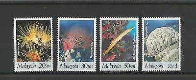 Malaysia 1997 Year Of The Coral Reefs Sg,6580661 U/m N/h Lot 1646A