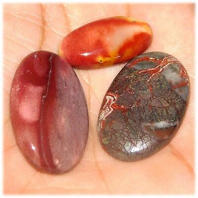 62 Cts Mexican Attractive Wholesale Mix Lot Agate Mix Size  Loose Cab Gemstone