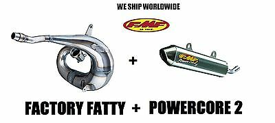 Fmf Factory Fatty Pipe & Powercore 2 Silencer Combo Full Exhaust 05-07 Cr250R