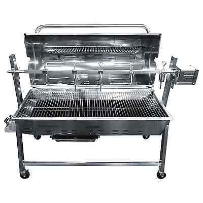 Combi Gas & Charcoal Machine / Hog Roast Oven / Rotisserie / BBQ - Tasty Trotter