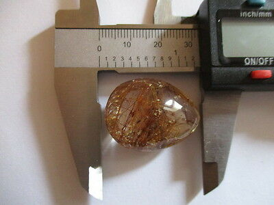QUARTZ WITH RUTILE 50 Ct [10g] NATURAL MINED  MF8306