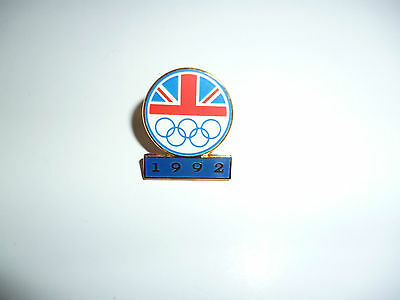 The Olympics Great Britain  Pin Badge -  1992 - TO CLEAR