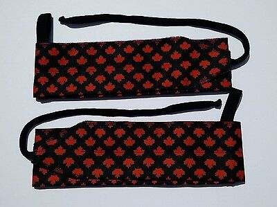 """Strength Wraps for Crossfit Olympic Weight lifting wrist wraps 34 1/2 """" w loop"""
