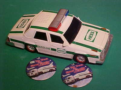 Collectible HESS Police Car 1993 with 2 FREE Pins