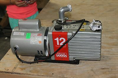 EDWARDS E2M12 Dual Stage Rotary Vacuum Pump