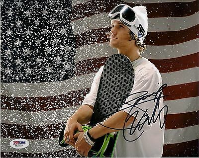 Louie Vito Signed 8X10 Photo Autographed PSA/DNA COA Winter X Games Gold Medal
