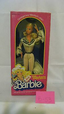 1980 Western Barbie - She's winking at you!
