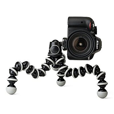 Joby GorillaPod SLR Zoom Tripod with Ball Head Bundle for DSLR and Mirrorless