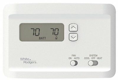 White-Rodgers NP100 Non-Programmable Thermostat for Single-Stage Systems