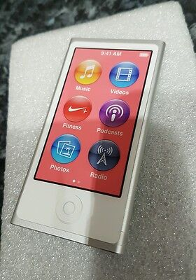 Apple iPod nano 7th Generation (Late 2012) Silver (16GB) (Latest Model) 24 Hour
