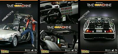 Hot Toys back the To future  Delorean mms 260  no Iminime / Rainman