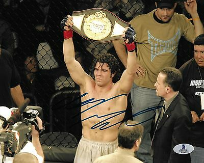 Clay Guida Signed UFC 8x10 Photo BAS Beckett COA StrikeForce Picture Autograph 1