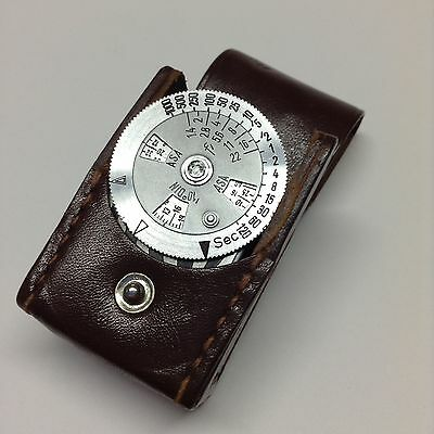 Metraphot Light Meter W/case For Leica And Retina Vintage