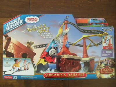 NEW Fisher Price New Trackmaster Thomas & Friends Shipwreck Rails Set Sealed