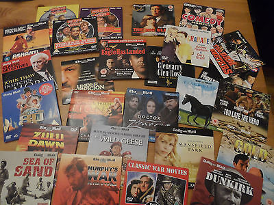 Job lot DVD's, 26 in all.