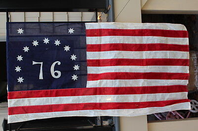 Thirteen (13) Star American Flag 3' X 5' All Cotton 76' Style 4