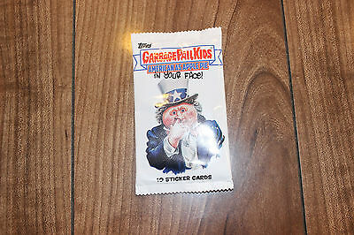 Garbage Pail Kids American as Apple Pie New Sticker Pack of 10!